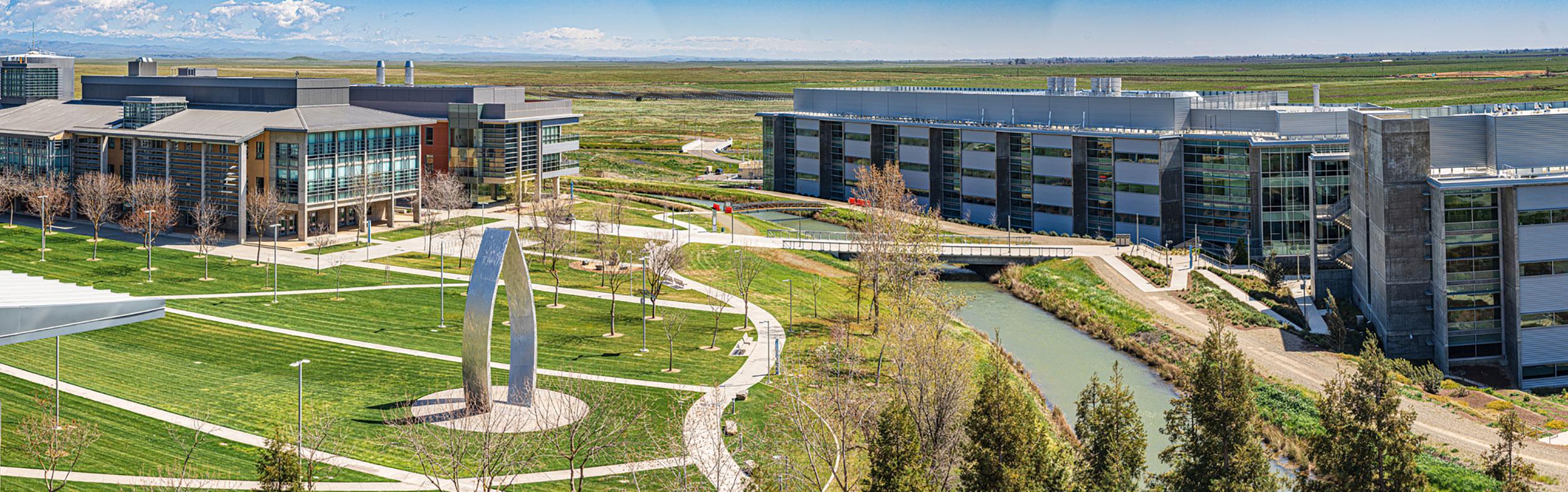 campus overhead aerial image
